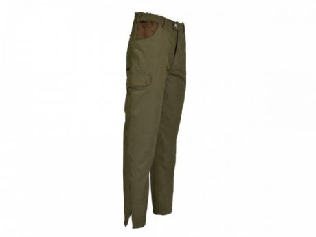1019 Percussion Tough Waterproof Hunting Trousers Lined Shooting Stalking Green